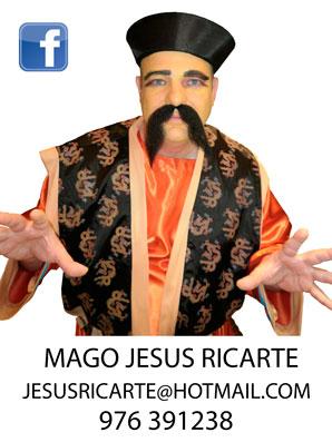 Mago para despedida de soltera en Zaragoza Mago Jesus Ricarte.