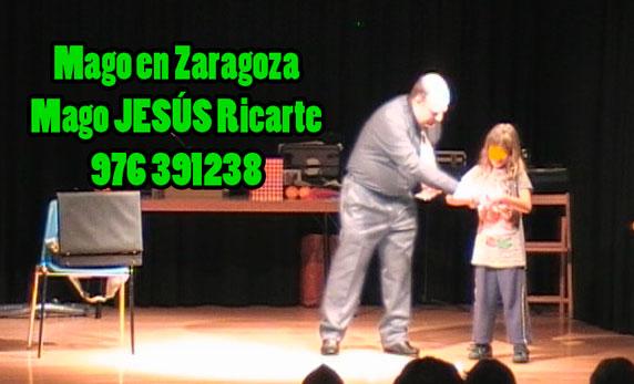 Magos en Zaragoza Mago Jesus Ricarte
