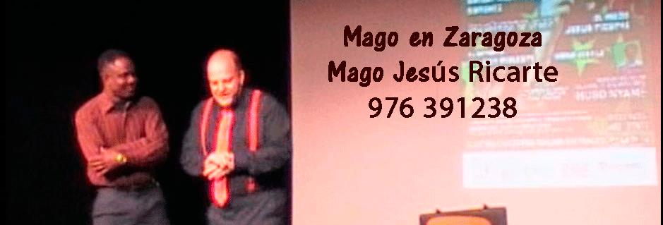 Mago en Zaragoza, Huesca y Teruel, Mago Jesús Ricarte haciendo un juego de magia
