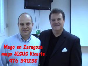 Mago en Zaragoza, Huesca y Teruel. Mago Jesús Ricarte con Estrellas de la Magia.