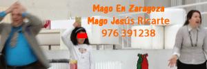 Mago en Zaragoza, Huesca y Teruel. Mago Jesús Ricarte