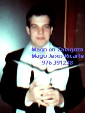 Mago en Zaragoza. Mago Jesús Ricarte