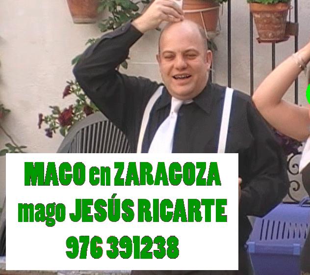 mago para bodas en Zaragoza Huesca y Teruel mago Jesús Ricarte