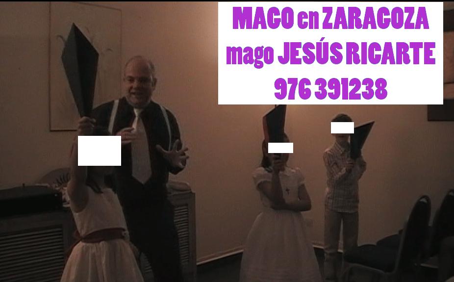 Mago para comunión en Zaragoza Huesca y Teruel