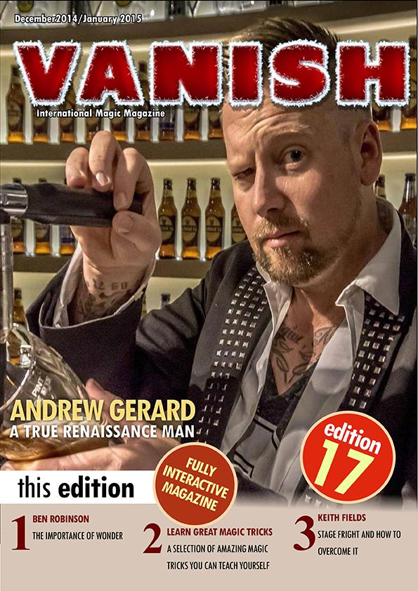 Revista de magia Vanish Magic Magazine 17
