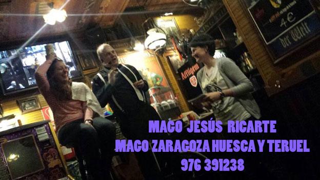 MAGO PARA FIESTAS NAVIDENAS Y NAVIDAD EN ZARAGOZA HUESCA TERUEL